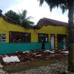 Atap Gedung SDN di Jember Ambruk, Kasek Enggan Bicara