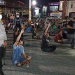 Terjaring Balap Liar, Puluhan Pemuda di Sidoarjo Ketahuan Tak Bermasker