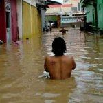 Air Sungai Meluap, Ratusan Rumah di Lamongan Terendam