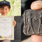 Bocah di Israel Temukan Lempengan Berusia 3.500 Tahun