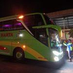 Pandemi Corona, Bus Masuk Terminal Ngawi Ngeblong