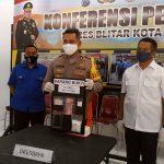 Edarkan Pil Koplo, Seorang Pria Blitar Diringkus Polisi