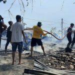 Gegara Bakar Sampah, Gudang Kosong di Situbondo Terbakar