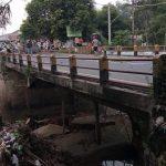 Tembok Penyangga Ambrol, Jembatan Penghubung Probolinggo-Lumajang Ditutup