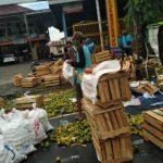 Truk Terguling di Lamongan, Muatan Jeruk Ambyar Berserakan ke Jalan Raya