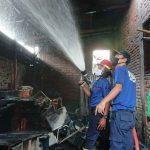 Rumah Kosong di Nganjuk Terbakar, Ini Penyebabnya