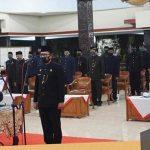 Covid-19, Puluhan Pejabat Nganjuk Berkumpul Acara Pelantikan