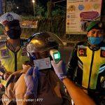 Tangkal Corona, Pengendara Motor di Pasuruan Jarang Pakai Masker
