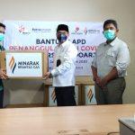 Pandemi Covid-19, MBGI dan SKK Migas Beri Bantuan APD