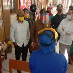 Covid-19, Petugas Karantina di Probolinggo Tak Pakai Masker Standart