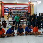 Delapan Pengedar Narkoba di Blitar, Diringkus Polisi