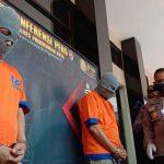 Dua Pengedar Sabu-sabu Jaringan Lapas, Dibekuk Polres Probolinggo Kota
