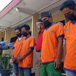 Pesta Sabu, 4 Pemuda Belia Dibekuk Polisi