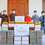 CJ Group Donasikan 50.000 Telur dan 1.000 Paket Sembako untuk Warga Jatim