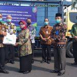 Covid-19, Pemkab Jombang Terima Bantuan dari BPJS Ketenagakerjaan Jawa Timur