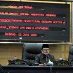 DPRD dan Pemkab Jombang Gelar Paripurna Bahas Raperda Bank Jombang
