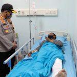 Kejar Jambret 'HP' di Sidoarjo, Polisi Patah Kaki