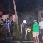Diduga Korsleting, Rumah Kontrakan di Blitar Terbakar