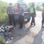 Diseruduk Pikap, Pemotor Lansia di Jombang Tewas