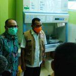 BNPB Sidak Kesiapan Alat PCR di RSD dr Soebandi Jember