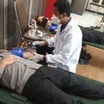 Hari Bhayangkara ke-74, Polres Bangkalan Gelar Donor Darah dan Bagi Ratusan Sembako