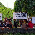 Berbeda Paham, Warga Desa Rejoagung Tulungagung Demo Pendirian Masjid