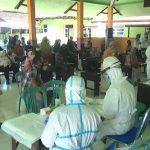 Ratusan Warga Kecamatan Pace Nganjuk Di-Rapid Test , Hasilnya 20 Reaktif