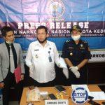 Beli Ganja Via Instagram, Seorang Mahasiswa Kota Kediri Ditangkap Polisi
