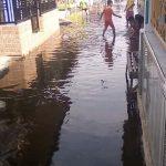 Banjir Rob Genangi Pemukiman Warga di Pasuruan