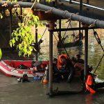 Tim Gabungan Temukan 1 Bocah Tenggelam di Bawah Jembatan Peneleh Surabaya