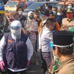 Gubernur Khofifah Pantau Persiapan Penerapan New Normal di Gresik