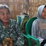 Tinggal di Gubuk Bersama Neneknya, Gadis di Probolinggo Tak Pernah Mengenyam Pendidikan