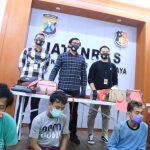 Satreskrim Polrestabes Surabaya Bekuk 4 Jambret, 3 di Antaranya Napi Program Asimilasi