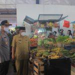 Resmikan Pasar Tangguh, Walikota Blitar Minta Warga Patuhi Protokol Kesehatan