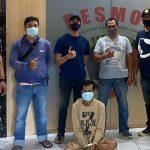 Buron 2 Tahun, Residivis Pecah Kaca Mobil Dibekuk Unit Resmob Polrestabes Surabaya
