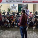 Bubarkan Balap Liar, Polisi-Warga Amankan 17 Motor dan 22 Pemuda