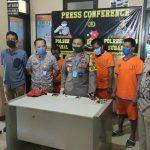 Sedang Nyabu, 4 Warga Pakal Surabaya Diringkus Polisi