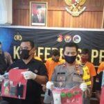 Lima Pengedar Sabu Diringkus Polres Mojokerto
