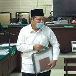 Bupati Sidoarjo Nonaktif Saiful Ilah Didakwa Terima Rp 550 Juta