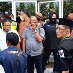 Tiga Satpam Bertubuh Kekar Halangi Wartawan Liput Sidak Bupati di PT. Tanjung Odi Sumenep