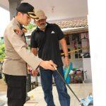 Tim Labfor Polda Olah TKP di Rumah Korban Bondet Pasuruan
