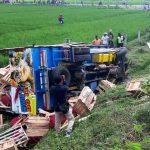 Dua Truk Tabrakan di Tol Ngawi, Seorang Kenek Tewas Seketika