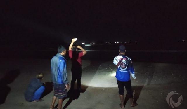 Kakak-Adik Terseret Gelombang di Pantai Pulau Merah Banyuwangi