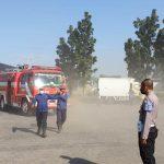 Gudang di Puspa Agro Sidoarjo Terbakar Diduga Korsleting Listrik