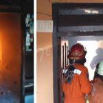 Rumah di Surabaya Terbakar, Diduga Akibat Korsleting Kipas Angin
