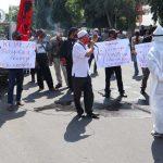 Anggap Penanganan Kasus Korupsi 'Tumpul', Projo Jombang Demo Kantor Kejaksaan