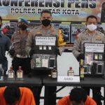 Sepekan, Tujuh Tersangka Pengedar Narkoba di Blitar Digulung Polisi