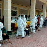 500 Ibu Hamil Surabaya Ikuti Swab Test Gratis di Gelora Pancasila