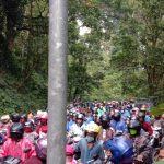 Jalur Gumitir Jember Macet, Pengendara Diminta Istirahat, Diduga Pohon Tumbang