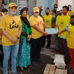 Dua Politisi Golkar Jombang, Peduli Korban Kebakaran